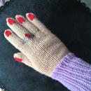 coona 手編み手袋
