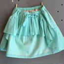 folk  made  ☆ pleated  skirt  Msize