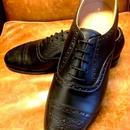 UK Original / Semi Brogue ? Shoes / Black