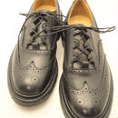 Tricker's × UW / Thistle Gillie Country Shoes / Black  MC