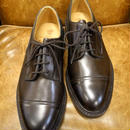 18.28 Rejected Tricker's / Brown / Cap Toe Derby Shoes / Leather W Sole / Size 7 half