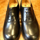 17.28 Rejected Tricker's  / Black / Punched Cap Shoes / Dainite W Sole / 4fitting