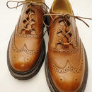 Tricker's × UW / Thistle Gillie Country Shoes / Marron Antique