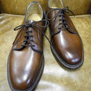 18.100 Rejected Tricker's / Brown / Unlined Plain Toe Shoes / Leather Sole / Size 6 half
