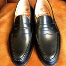 17.64 Rejected Tricker's / Black / Loafers / Leahter Sole / Size 6