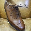 18.91 Rejected Tricker's / Brown / Cap Toe Oxford Shoes / Leather Sole / Size 6 half