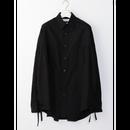 LOOSE SLIT SHIRT    BLACK
