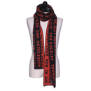 Christian dada  QUOTES JACQUARD LONG KNIT SCARF