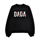 DADA LOGO ROSE EMBROIDERED SIGNATURE SWEATSHIRT