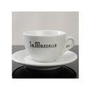 La Marzocco Latte Cup & Saucer SET(GB-5 LOGO)7oz