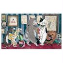 石黒亜矢子「犬のネクタイ屋さん」A4ポストカード