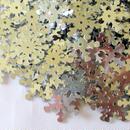 スノーフレイク スパンコール(雪の結晶) シルバー 400枚セット(19mm) (B202)