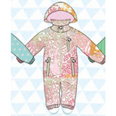 ducksday Rain suits Milsyl  (74-80cm~92-98cm)
