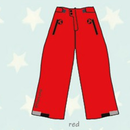 ducksday Lined winter pants Red  ( 8y / 10y / 12y )