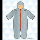 ducksday Baby snow suit Manu (62cm / 68cm )