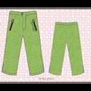 ducksday Rain pants Funky green ( 2y / 4y / 6y )