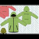 ducksday Rain jacket Funky green ( 2y / 4y / 6y )