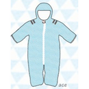 ducksday Baby snow suit Ace (62cm / 68cm )