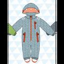 ducksday Rain suits Manu  (98-104cm~110-116cm)