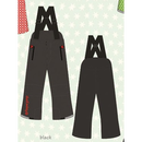 ducksday Winterpants with braces  Black ( 2y / 4y / 6y )