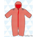 ducksday Baby snow suit Funky red (62cm / 68cm )