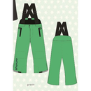 ducksday Winterpants with braces  Green ( 2y / 4y / 6y )