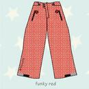 ducksday Lined winter pants Funky red ( 8y / 10y / 12y )