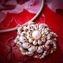 Vintage Necklace  花火調子
