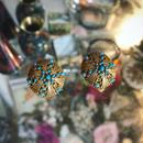 Vintage earring「ゴールド&ターコイズ」