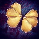 Vintage Earring 花びら蝶々