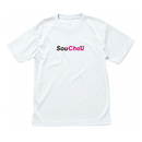 SouChou ホワイト ライトドライTシャツ【8月上旬〜発送】