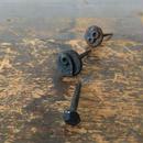 ▲送料無料 アンティーク調のナンバーネイルとヴィンテージの釘 3本セット