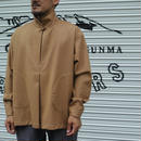 Monitaly INVERT PULLOVER Wool Flannel Camel