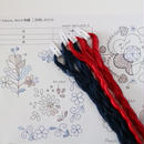 Korai kalocsa, Matyo刺繍 二色刺し糸セット