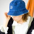 DENIM HAT / navy