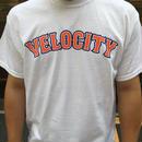 VELOCITY ベースボールロゴ Tシャツ(ホワイト)