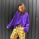 ドルマンロングスリーブ(purple)