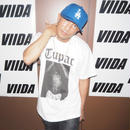 "ViiDA×2PAC official Tee  ""OLD"" (white)"