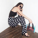 DOT PANTS (black)