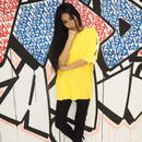 ViiDA LOGO TAPE TEE(yellow)