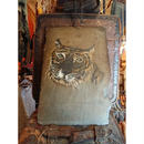 1940s.  A picture drawn on a stone  「Tiger」