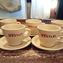 ~1960s  NESTLE  Coffee  cup  &  Saucer