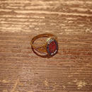 【1918】12K War veterans  Memorial ring