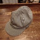 【1940s  KROMER  KLEAN】 Hickory  work  cap