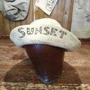 1920s    Hand paint    memorial  felt  hat