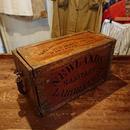 【 Sanitary laboratory 】Antique  Wooden box