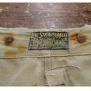 1900s   Levi's  White  Duck  Trousers