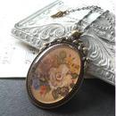 ヴィンテージ 薔薇Bouquet/Gold ロマンチックネックレス