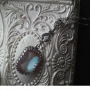 サフィレット Octagonal(18×13ミリ)Art nouveauクラシカルネックレス