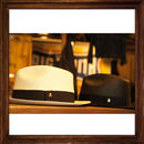 JOHNNY PANAMA HAT【WHITE】
